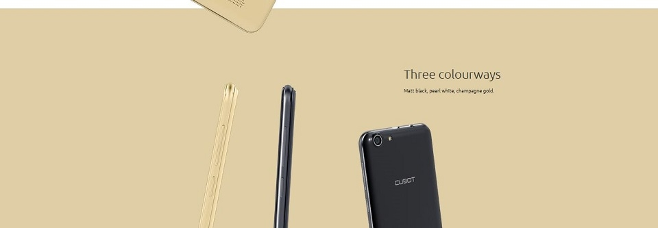 CUBOT NOTE S- 5.5 HD, 2GB+16GB , 5MP+8MP Camera, 4150mAH , Best Smart Mobile Phone