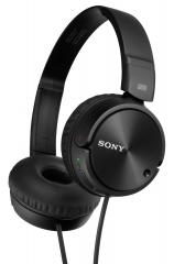 Sony On-Ear Extra Bass Wired Headphones - Black