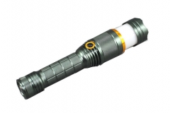 10w led flashlight T6 red blue & white light Multicolor 19*5*4cm 10w