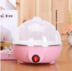 High Quality Multifunction 7 Egg Cooker/Steamer yellow 15.5*15.5*17cm