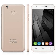 """OUKITEL U7 Plus 5.5"""" LTPS HD 4G Network 2G RAM 16G ROM Android 6.0 Smartphone Champagne Gold"""