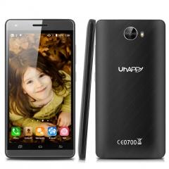 Uhappy V5 Android 5.1, 1GB  RAM 8GB ROM, 2MP Front camera 8MP Back camera Black