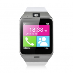 Excelvan NFC Bluetooth & Unlocked SIM Phone Watch With Camera and Function Of Call Music Reminder White One Size