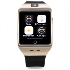 I8s 1.54 inch Pedometer Compass NFC Smartwatch Phone with Camera Golden One Size