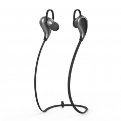 EXCELVAN Stereo Bluetooth Headphones, Wireless In-Ear Sports Earbuds with Mic Black