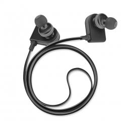 AEC BQ658 Sports  Magnetic Adsorption Non-slip HD HIFI Bluetooth  Headsets Black & Gray
