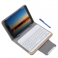 3 in 1 Universal Wireless Bluetooth Keyboard Tablet Protective Case