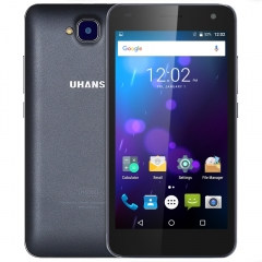 UHANS H5000 Android 6.0 5.0 inch 4G 3GB RAM 32GB ROM Dual Cameras 4500mAh Battary Smartphone Black