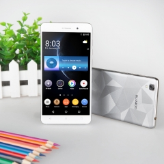 BLUBOO Maya 3G 5.5 Inch Android 6.0 OS Quad-Core Dual SIM HD 1280*720 pixels 2G/16G 13.0MP Camera Gray