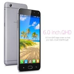 AMIGOO R9 Max 6.0 Inch Quad Core 1GB RAM 8GB ROM 8.0MP Camera Android 5.1 3G Smartphone Gray