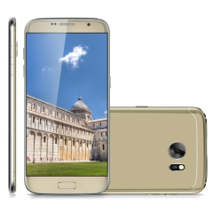 Bluboo Edge  5.5 inch 4G Phablet Android 6.0 Quad Core 2GB RAM 16GB ROM 8.0MP Camera Gold