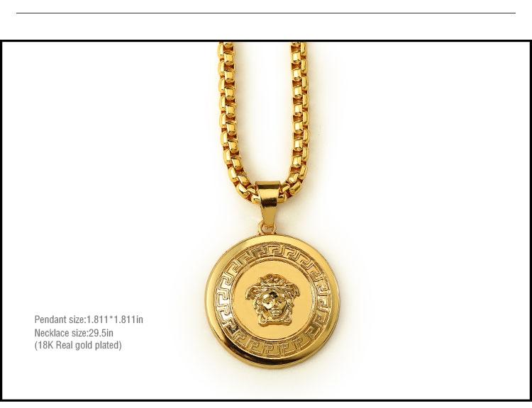 e3570319eb2c Compra Chapado en oro de 18 quilates color marca Marea Collar ...