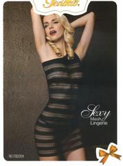 New Black Net Body Stocking Mesh Sexy Lingerie Nightwear SFB2004