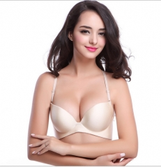 C Cup New Sexy Seamless Bra Gather Adjustable Women Bra Seamless Underwear Push Up Bra