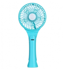 Portable Rechargeable USB Cooling Fan Blue
