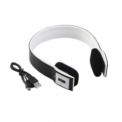 Bluetooth Sports Stereo Headset Headphone Mic for Mobile Phones Notebooks Black