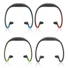 Sport Wireless Bluetooth Handfree Stereo Headset Headphone For iPhone Cellphone Black