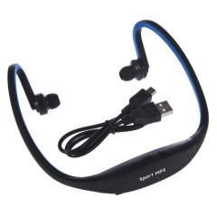 USB Sport Running MP3 Music Player Headset Headphone Earphone TF Slot