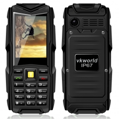 Vkworld StoneV3 IP67 Waterproof Dustproof Dropproof 5200mAh Outdoor Feature Phone Black Gray