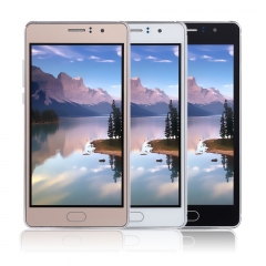 5 Inch Dual Sim Dual Standby Dual Core 3G Smart Phone Mobile Phone For Android Gold
