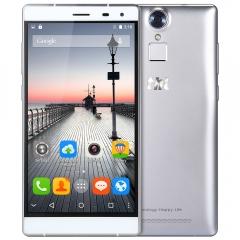 THL T7 5.5 inch 4G Phablet MTK6753 Octa Core 3GB RAM 16GB ROM Fingerprint ID 13.0MP + 5.0MP Cameras SILVER
