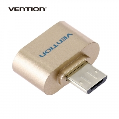 Vention A07 Series Micro USB 2.0 OTG Data Adapter for Android Smartphone / Tablet Black