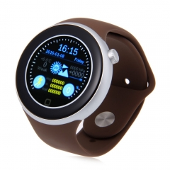 AIWEAR C1 Dual Bluetooth Heart Rate Track Smart Watch with Siri Gesture Control silver one size