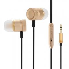 EN32 Portable 3.5MM Stereo In-ear Music Earphones Headphones gray