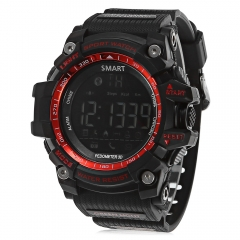 AIWATCH XWATCH Sport Smart Watch Pedometer Stopwatch Call Message Reminder red one size