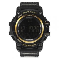 AIWATCH XWATCH Sport Smart Watch Pedometer Stopwatch Call Message Reminder golden one size