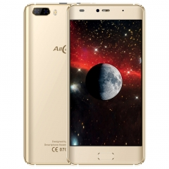 Allcall Rio 3G Smartphone 5.0 inch Android 7.0 MTK6580A Quad Core 1.3GHz 1GB RAM 16GB ROM GPS 3D golden