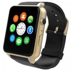 Connect Me 2016 New Real Smart Watches, Action display, water proofing, SIM slot, camera GOLD 1.54 inch
