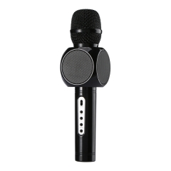 Smart portable Karaoke player Make a record reverberation microphone Bluetooth hands-free calling black 63*63*245mm