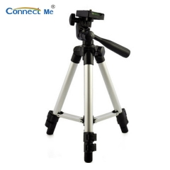 Connect Me Aluminum alloy tripod for projector, camera, fishing light silver D6*25cm