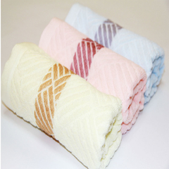 33*72 CM high quality soft 100% cotton towel  for adults plain towels fiber Hand Towel home use cotton gift towels