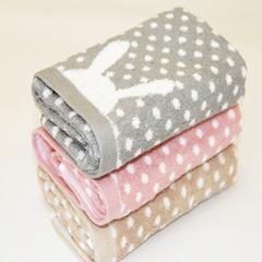 34*74cm Microfiber cartoon Towel Hand Towels For Adult  Rabbit Bots quick dry towel