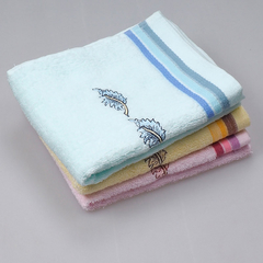 34*74 CM 100% Cotton Towel Home Using Hand Towels for Adults Embroidered natural color Towels