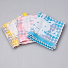 25*25 CM 100% Cotton Towel Home Using Wash Towels For Children Kitchen Quick-Dry Hotsale Dobby Soft Towels