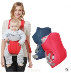Baby Backpack Carrier, Multifunctional baby sling/bag red one size