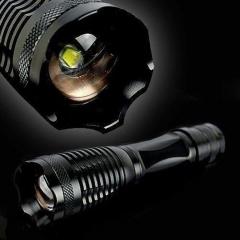 1200Lumen Tactical T6 Flashlight Adjustable Focus 5 Mode Flashlights Torch