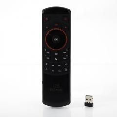 Hebrew Language Rii i25 RF Wireless Keyboard Remote Controls for Smart TV Box PC Black one size