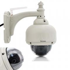 Sricam 720P HD Wireless Wifi IR-Cut Outdoor Network Pan/Tilt IP Camera Day Night