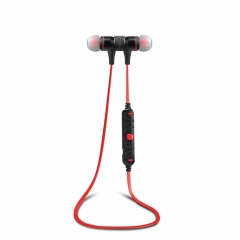 Awei A920BL Wireless Bluetooth 4.1 Sport Stereo Headset Noise Earbuds Headphon Calls Red