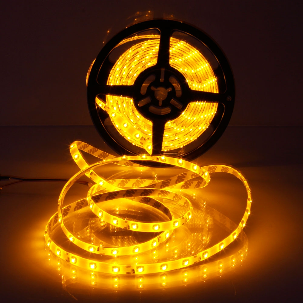 Kilimall 12v 5m 300leds 25w smd3528 orange yellow light epoxy image image image image image aloadofball Image collections