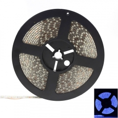 Waterproof 500CM 90W 900LED 3528 SMD 450-490nm Decorative Light Strip Blue as picture one size no