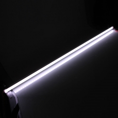 5PCS 12V 18W SMD 5630 White 72LED Light Fluorescent Tube Lamp With Scrub Cover as picture one size 18w
