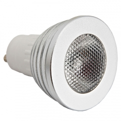 Lot5 GU10 5W 85~265V LED RGB Bulb Lamp Light Remote Control Color Changing as picture one size 5w