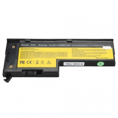 4 Cell 14.8V Laptop Battery for IBM Lenovo Thinkpad X60 X60s X61 X61s Black