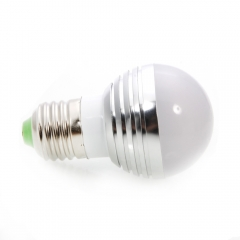 Lot5 AC85-265V E27 3W RGB LED Bulb Lamp Colorful Remote Control Magic Light as picture one size 3w
