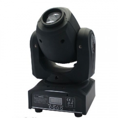 U`King 30W LED Moving Head Effect Light 8 Rotary Pattern DMX-512 Stage Lighting EU Plug black one size 30w